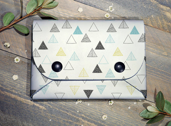 Geo Trees - Midi Travel Wallet