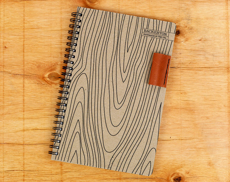 Wood Grain - Notebook
