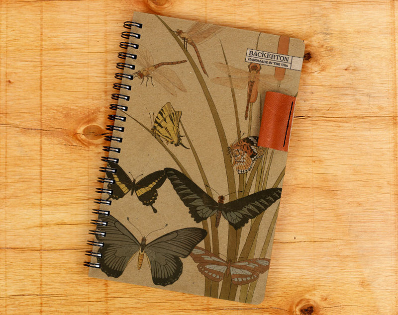 Retro Butterfly - Notebook Wholesale