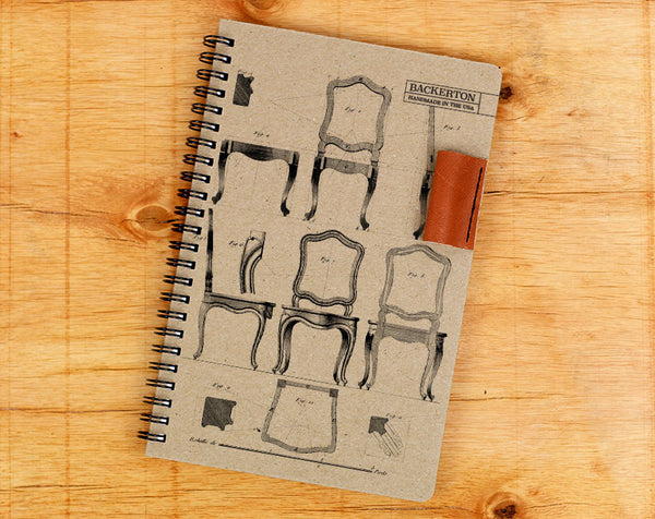 Chair Diagram - Notebook Wholesale