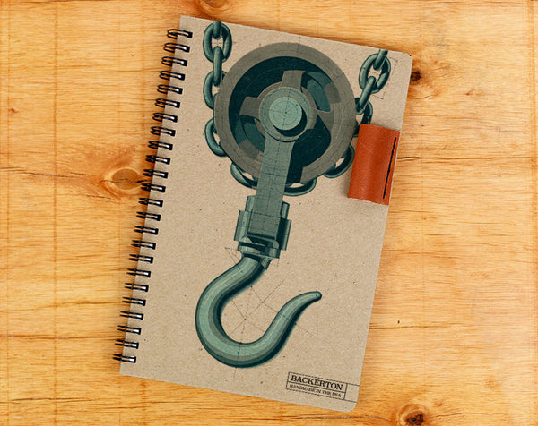 Pulley Hook - Notebook Wholesale