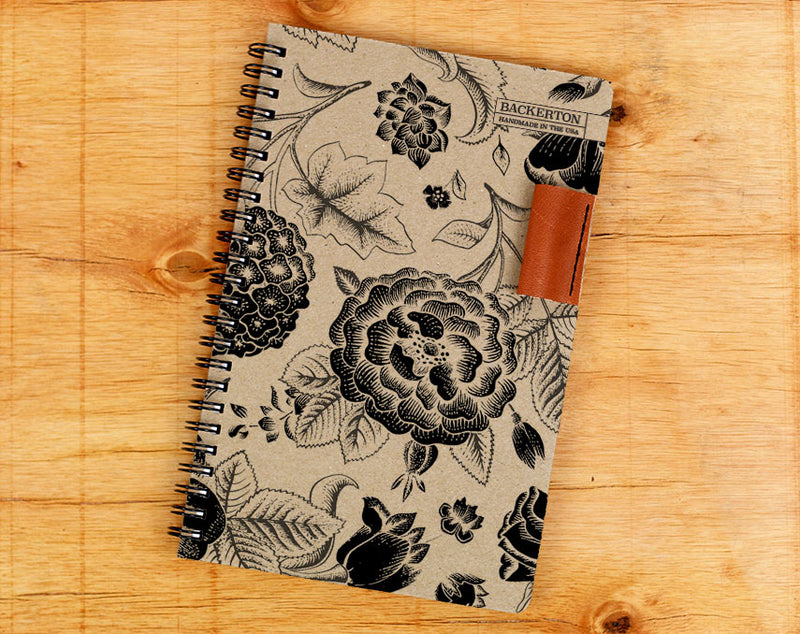 Flowers - Notebook Wholesale