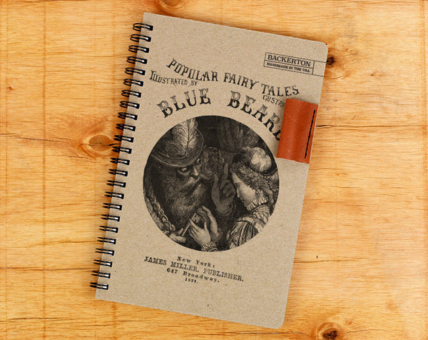 Blue Beard - Notebook