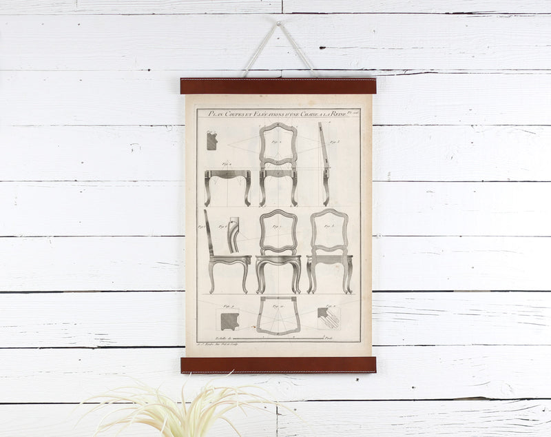 Chairs - Poster Frame