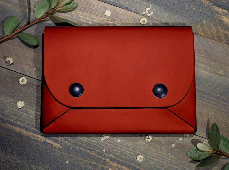 Red - Midi Travel Wallet