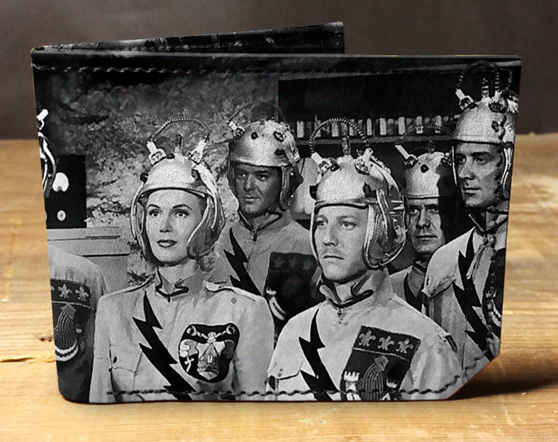 SciFi Astronauts - Spectrum Leather Wallet