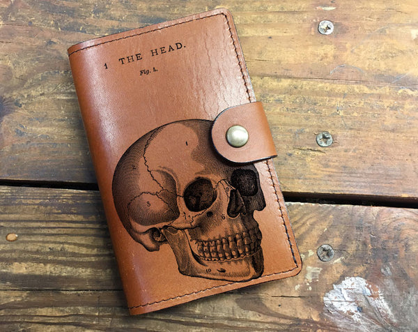 The Head - Leather Journal Cover