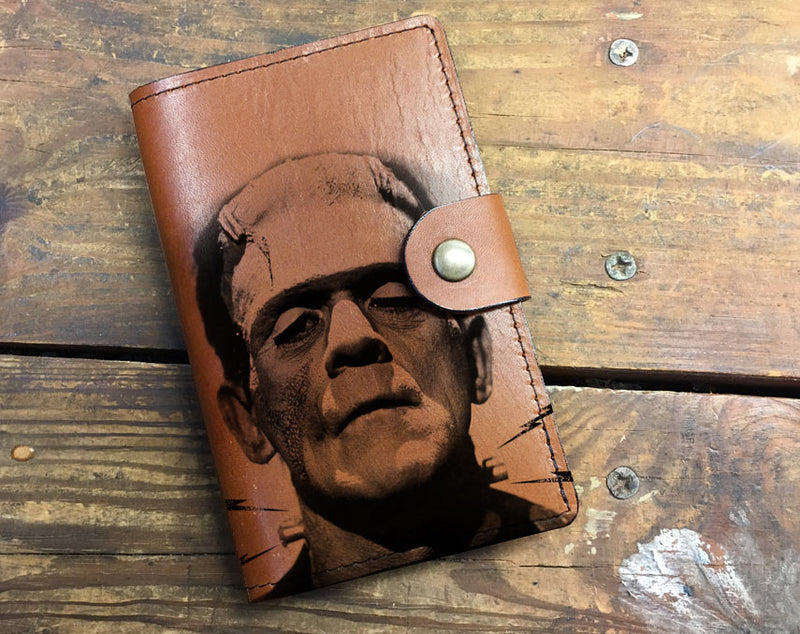 Frakenstein - Leather Journal Cover