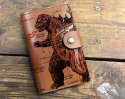 Godzilla - Leather Journal Cover