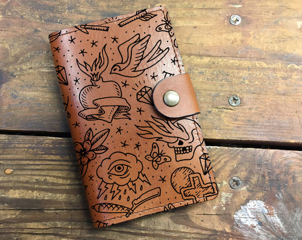 Tattoo - Leather Journal Cover