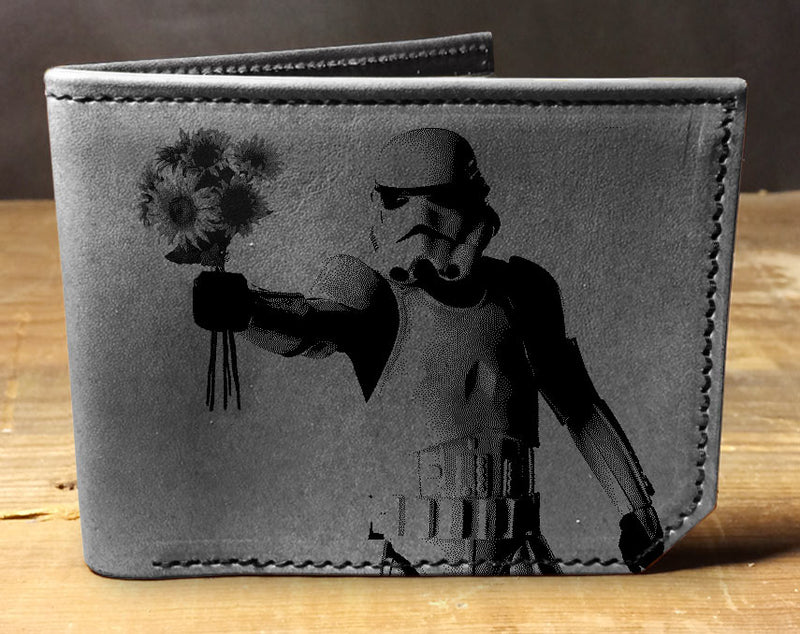 Storm Trooper - Printmaker Leather Wallet