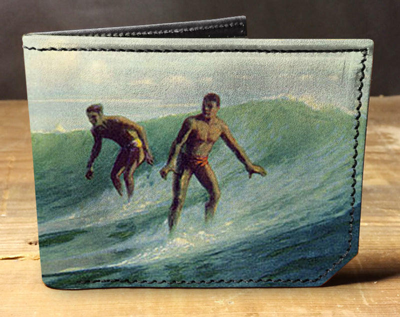 Surf - Spectrum Leather Wallet