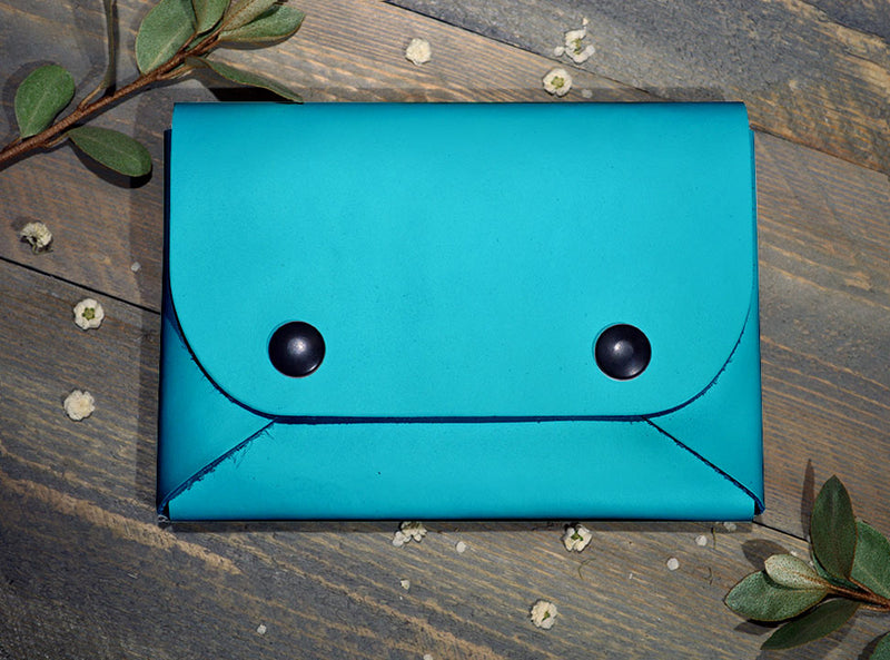 Teal - Midi Travel Wallet