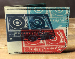 Turntables - Spectrum Leather Wallet