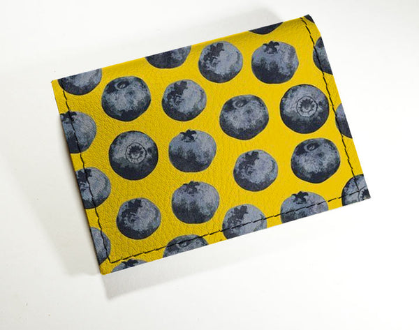 Blueberries - Vinyl Mini wallet Wholesale