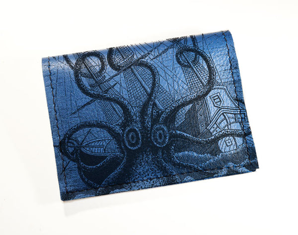 Octopus - Vinyl Mini wallet Wholesale
