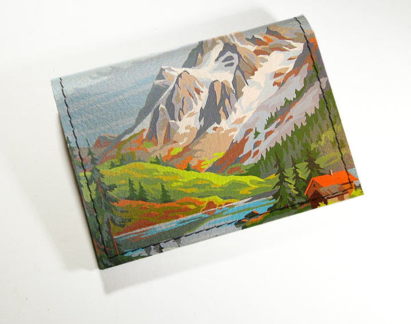 Painted Mountain - Vinyl Mini wallet Wholesale