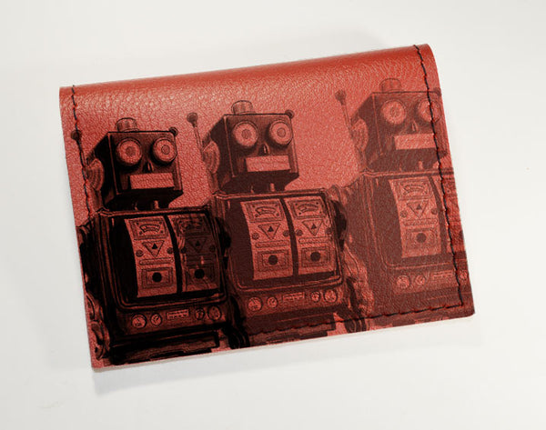 Robots - Vinyl Mini wallet Wholesale