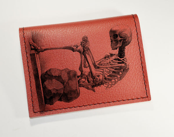 Skeleton - Vinyl Mini wallet Wholesale