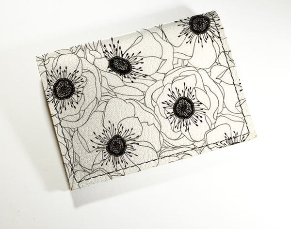 White Flowers - Vinyl Mini wallet Wholesale