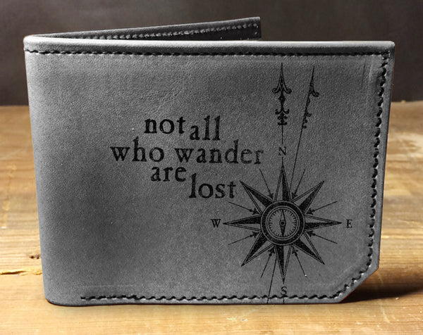 Wanderer - Printmaker Leather Wallet