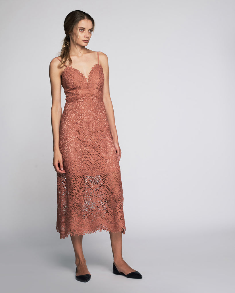 Dillon Dress in Clay