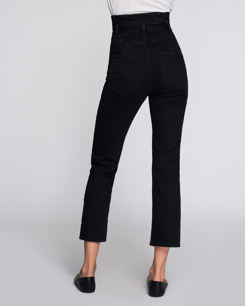 Lyle Denim Pant in Overdyed Black