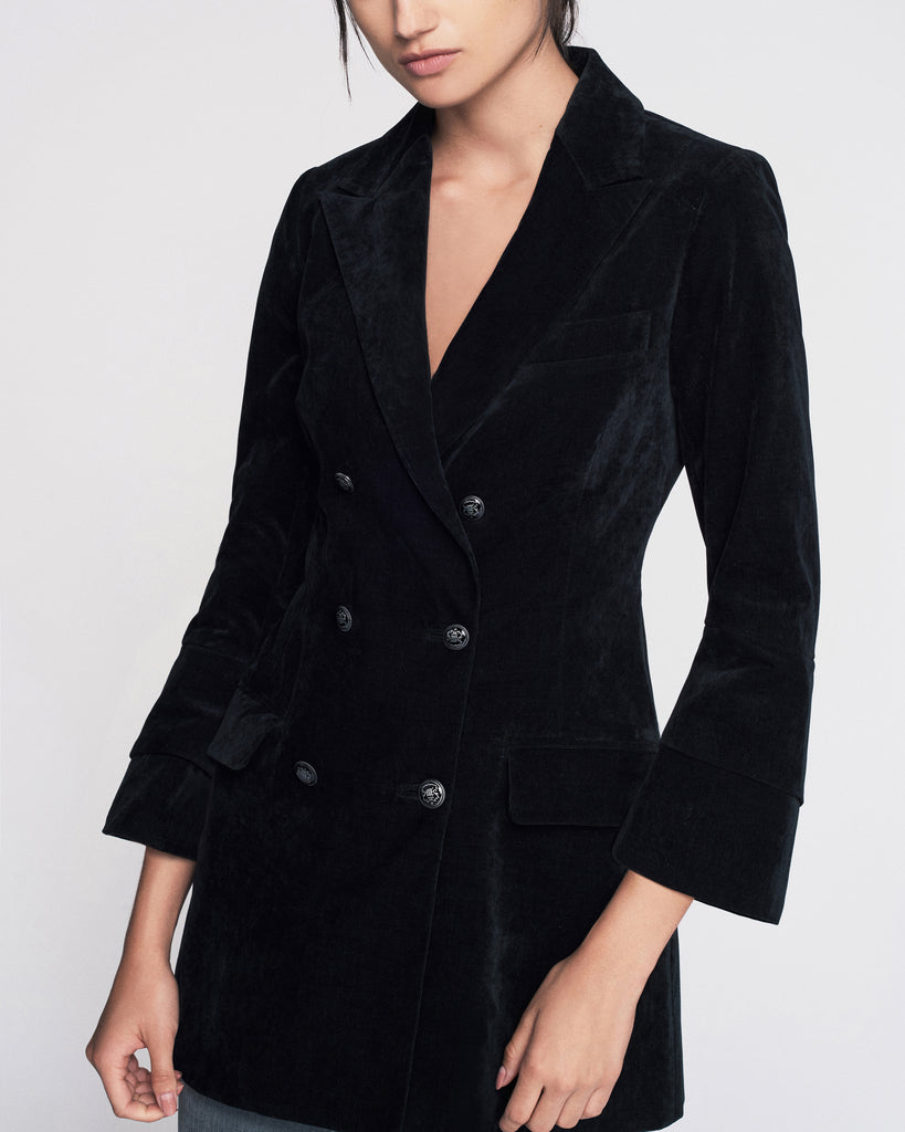 Wilder Cord Mini Blazer Dress