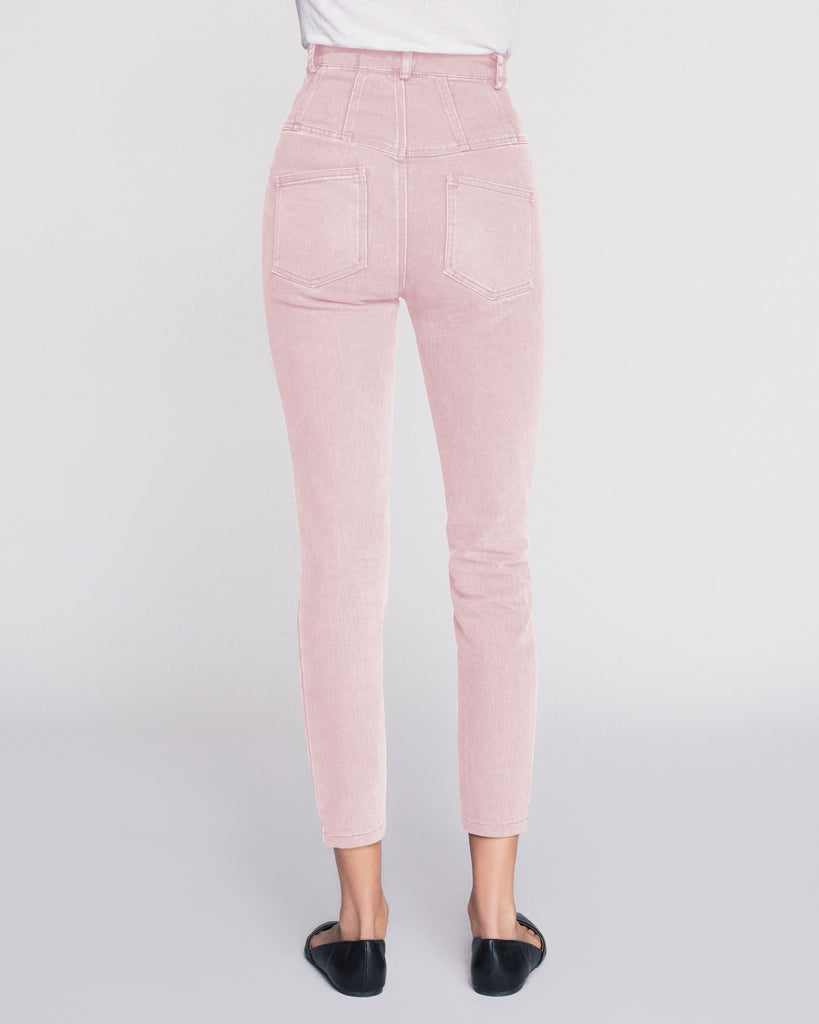 Hartly Denim Pant in Washed Pink