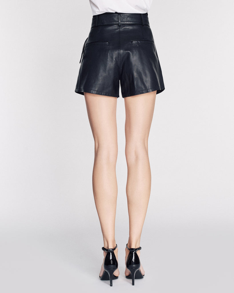 Levi Leather Shorts