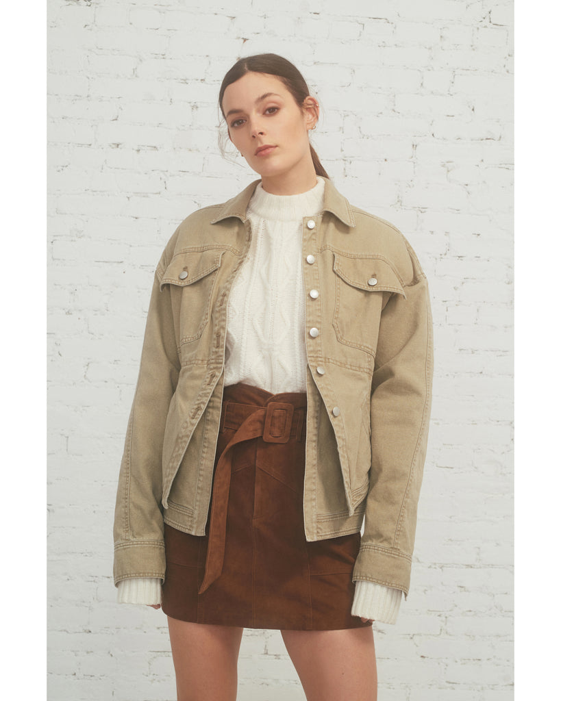 Beckett Canvas Double Layer Jacket