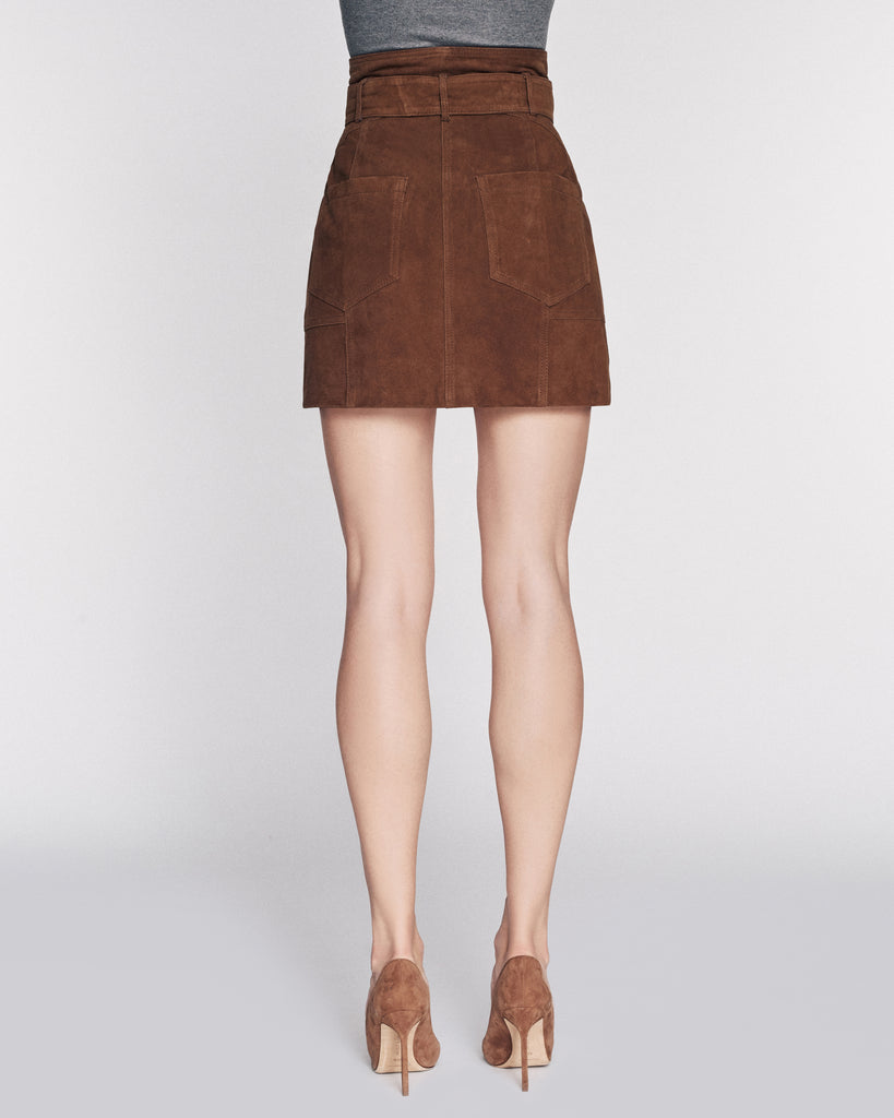 Claire Suede Skirt
