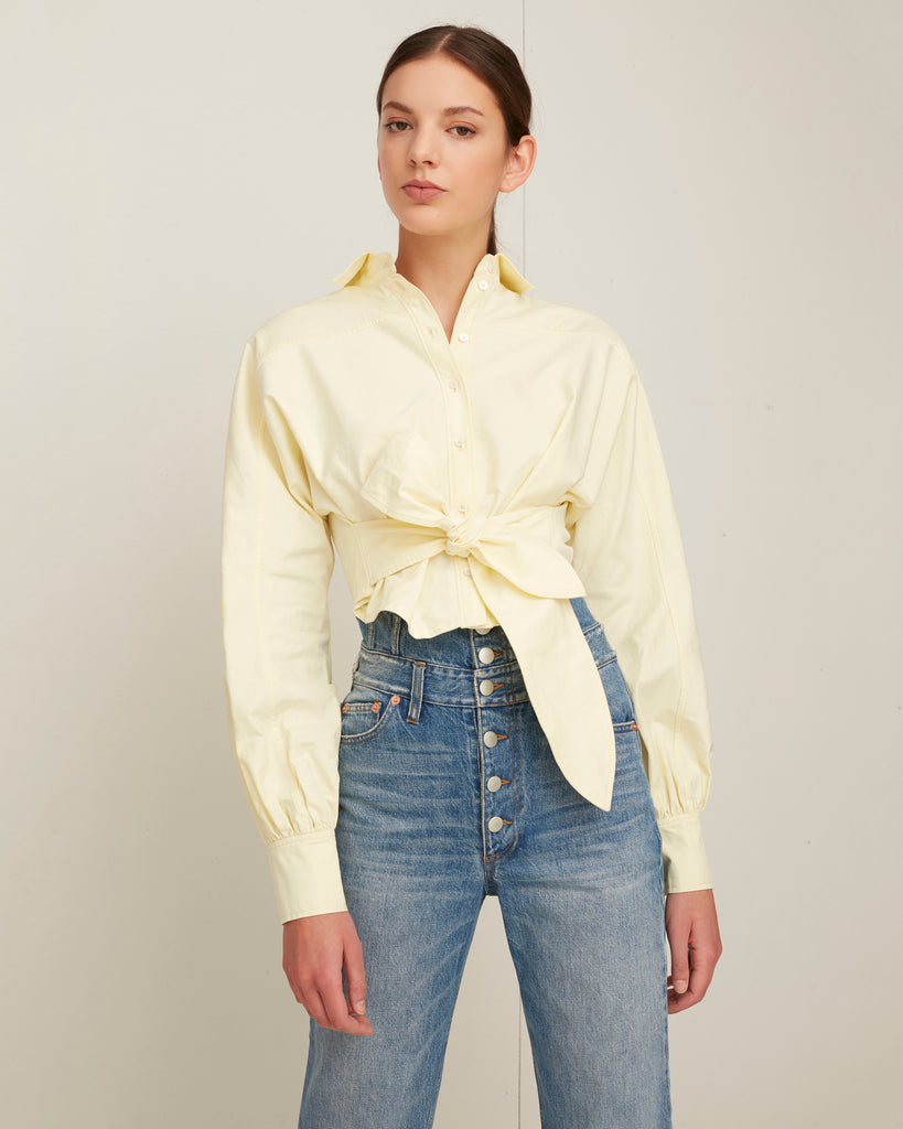 Emmerson Oxford Shirt in Canary