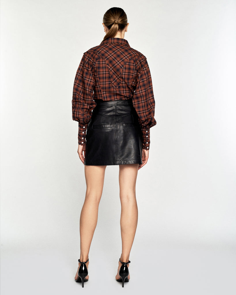 Huxley Westorian Plaid Flannel Shirt
