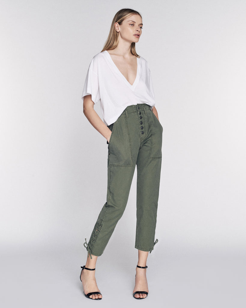 Laszlo Washed Canvas Pant