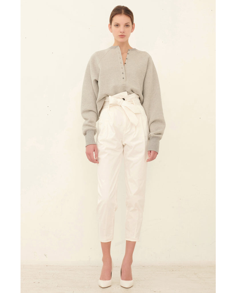 Piper Pegged Leg Pant_Soft White_Lookbook