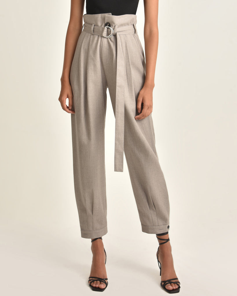 Billy Retro Pops Trouser_Taupe_Front