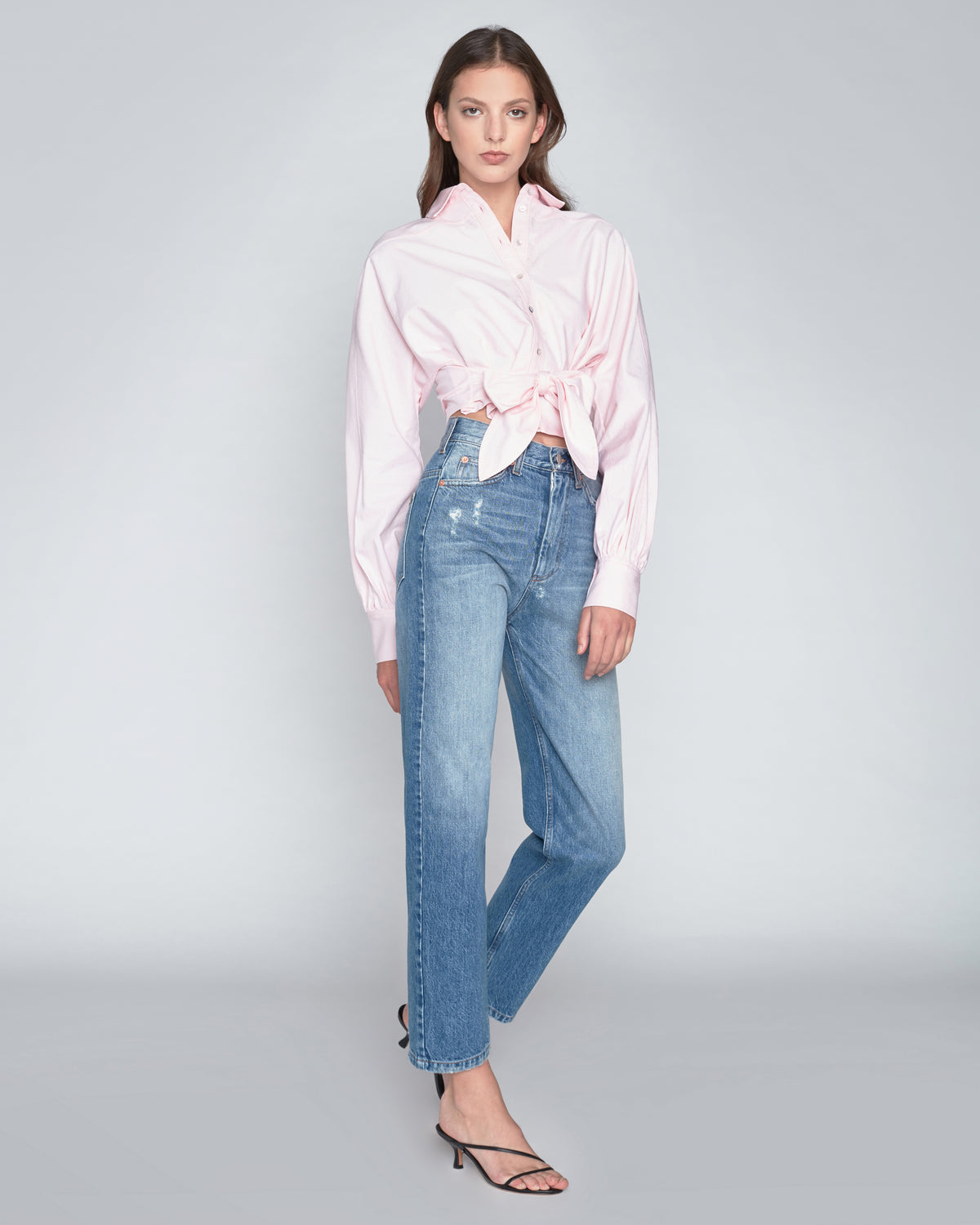 Emmerson Oxford Shirt in Pink