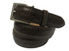 Bison Skin Belt Brown Classic