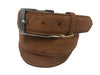 Calf Skin Suede Belt Tan Classic