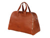 Marco Polo Luxury Travel Bag Cognac