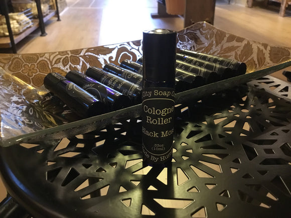 Black Moss Cologne Roller