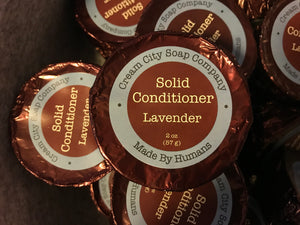 Lavender Solid Conditioner