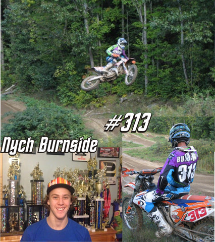 Nych Burnside Motocross Image in Grubwear Hat