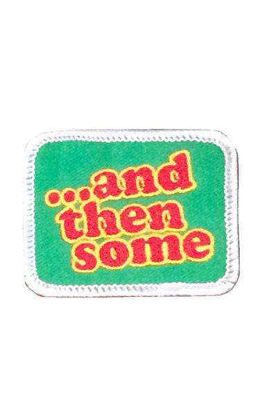 "New patch designed by the brilliant minds at Grubwear. ""And then some""..."