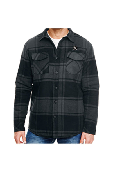 BURNSY Plaid  Flannel Insulated Jacket - Grubwear