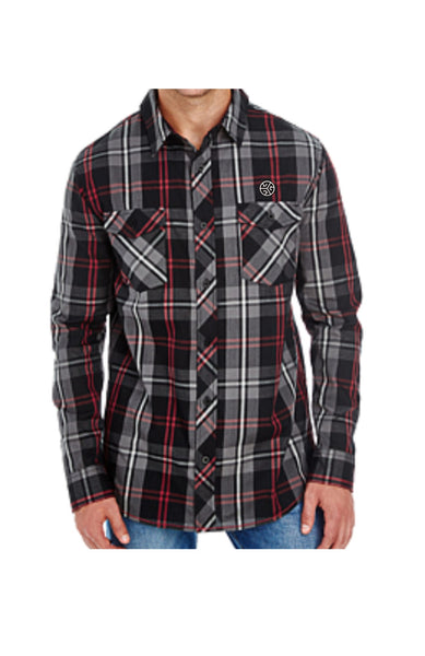 BURNSY Plaid Oxford Shirt - Grubwear