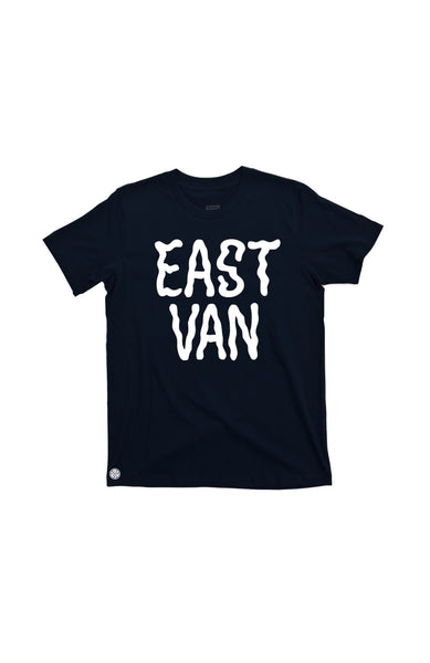 East Van 'GHOUL' Print T-shirt by Grubwear