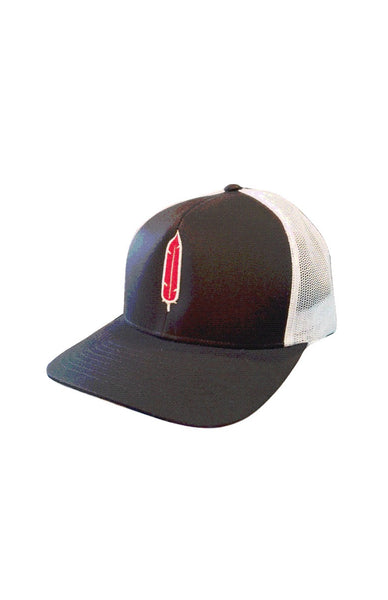 I LOVE FIRST PEOPLES 'UNITY FEATHER' Cap by Grubwear