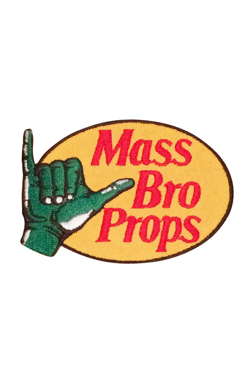 MASS BRO PROPS Patch by Grubwear